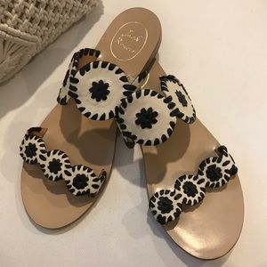 Jack Rogers Double Strap Whipstitch Sandal
